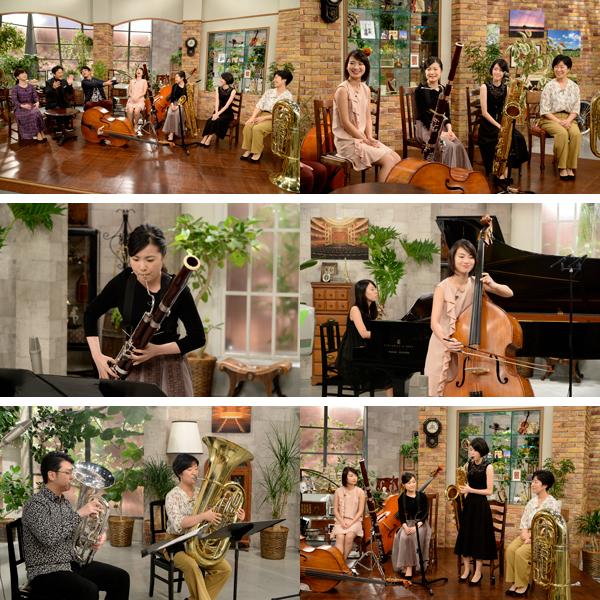テレビ朝日『題名のない音楽会』「低音楽器女子の休日」(c)テレビ朝日