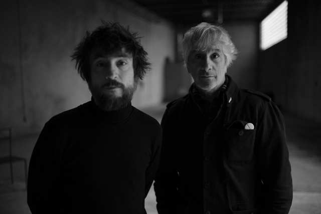 Lee Ranaldo & Raül Refree  - photo by Ari Marcopoulos