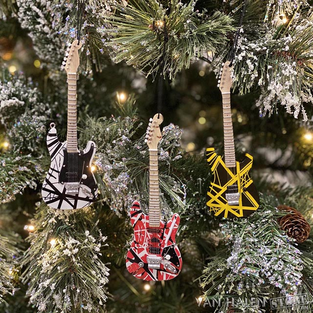 The Van Halen Store - EVH Guitar Ornaments