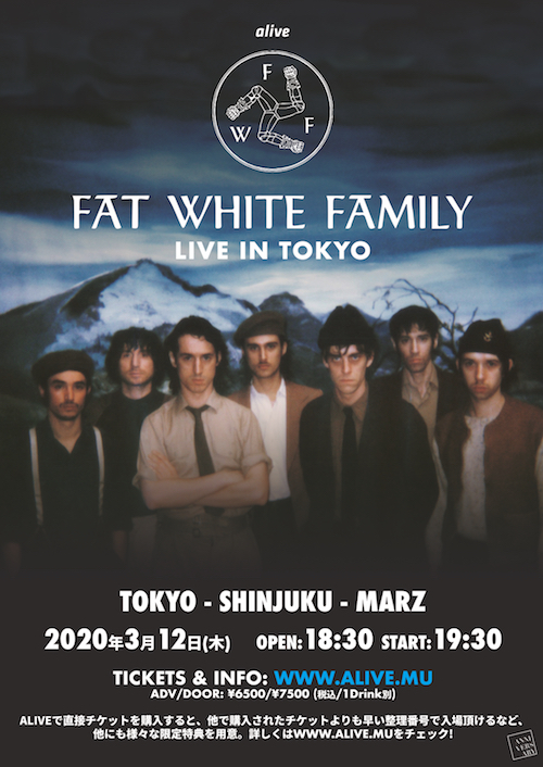 Fat White Family Live in tokyo