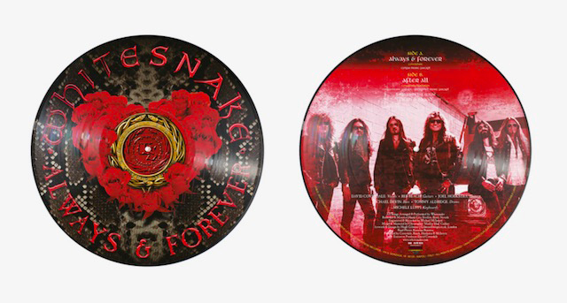 WHITESNAKE / ALWAYS & FOREVER LIMITED EDITION PICTURE DISC