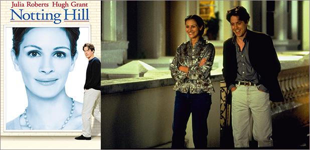『ノッティングヒルの恋人』© 1999 PolyGram Filmed Entertainment, Inc. All Rights Reserved.
