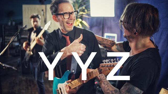 Martin Miller & Paul Gilbert - YYZ (Rush Cover) - Live in Studio