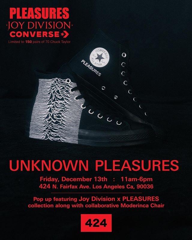 PLEASURES - Joy Division x Converse Chuck 70s