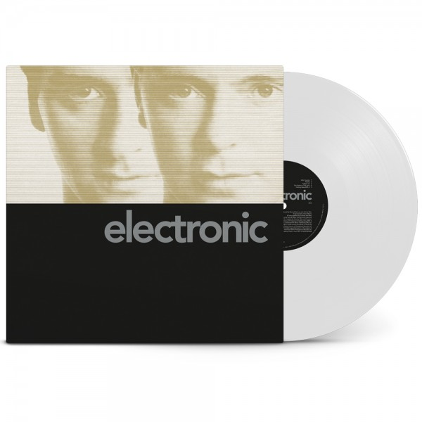 Electronic / Electronic [1LP White / Featuring the special black cover]