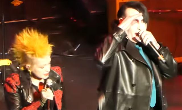 Cyndi Lauper & Marilyn Manson