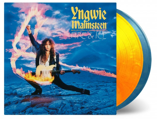 Yngwie Malmsteen / Fire & Ice (EXPANDED) [180g LP / Fire (LP1) (Solid Orange & Solid Yellow Mixed) & Ice (LP2) (Solid Blue & White Mixed) vinyl]