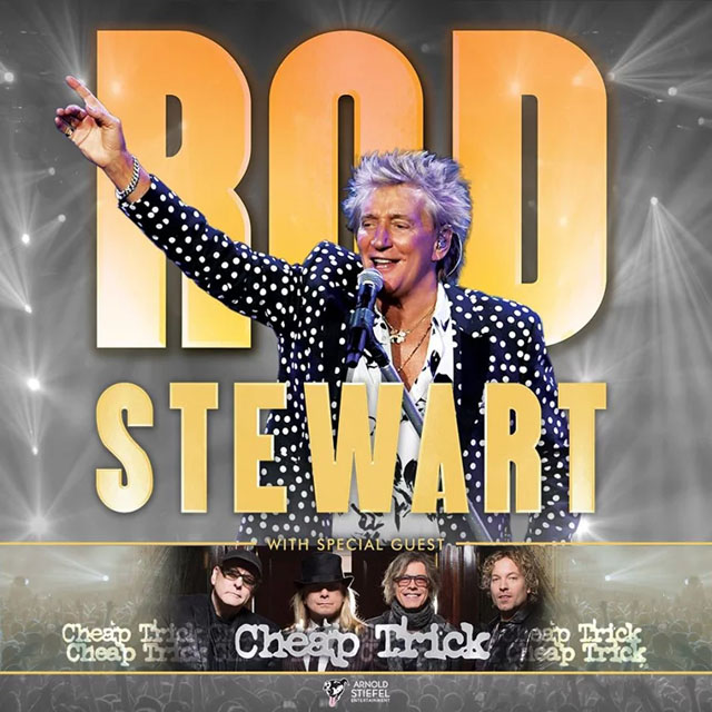 Rod Stewart and Cheap Trick 2020 North American tour