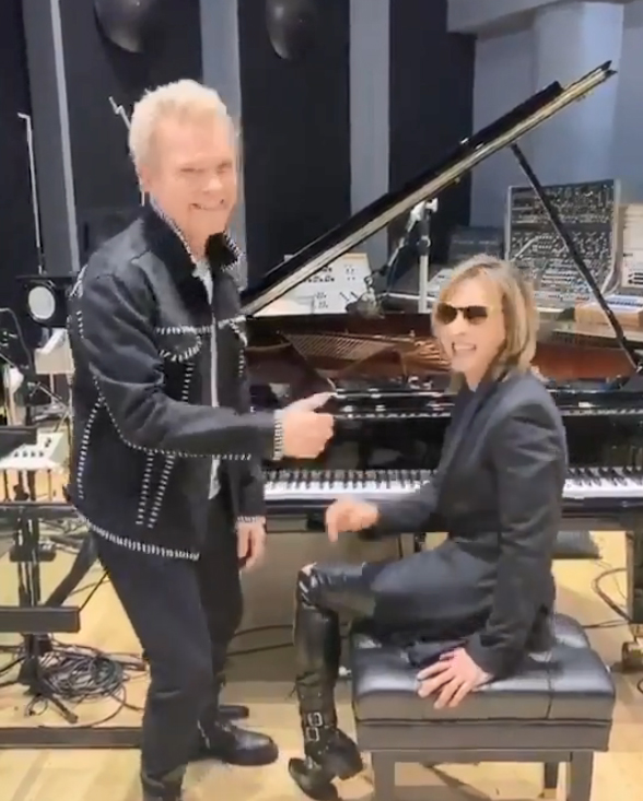 Billy Idol and YOSHIKI