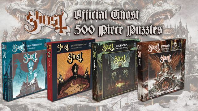 GHOST - 500 PIECE JIGSAW PUZZLE