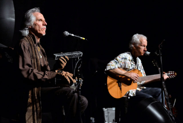 John Densmore and Robby Krieger - CREDIT: Amanda Edwards/WireImage via Getty Images