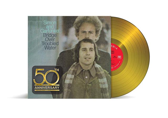 Simon & Garfunkel / Bridge over Troubled Water [180G limited edition gold vinyl]