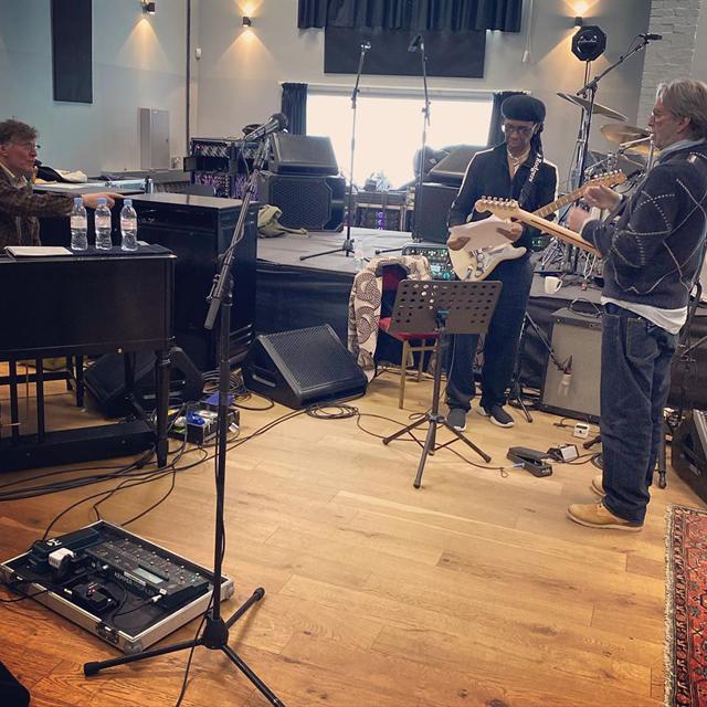 Steve Winwood, Nile Rodgers, Eric Clapton