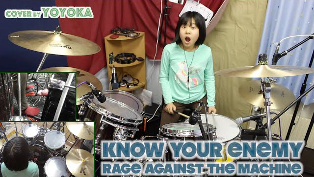 Know Your Enemy - Rage Against The Machine / Cover by Yoyoka, 10 year old