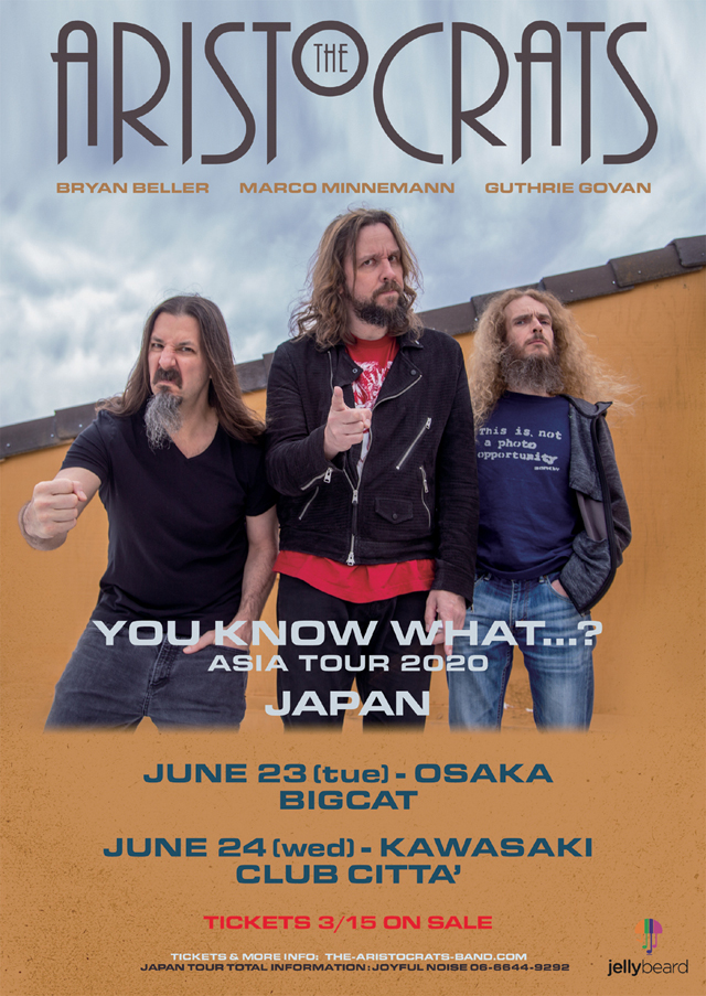 THE ARISTOCRATS YOU KNOW WHAT…?JAPAN TOUR 2020
