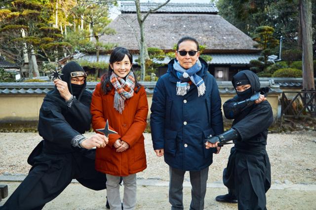"NHK『ブラタモリ「伊賀忍者〜なぜ伊賀は""NINJA""の里になったのか?〜」』(c)NHK"
