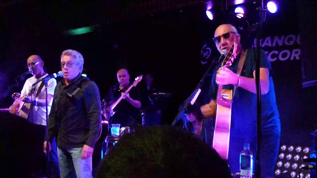 The Who acoustic @ Pryzm, Kingston, London 14 February 2020