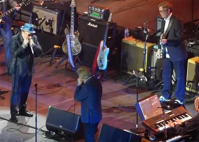 Van Morrison ( Eric Clapton on guitar)- Music for Marsden concert Live at London O2. March 03 2020