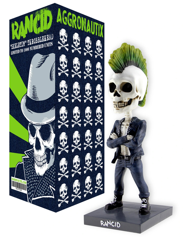 RANCID - Skeletim V2 Limited Edition Throbblehead