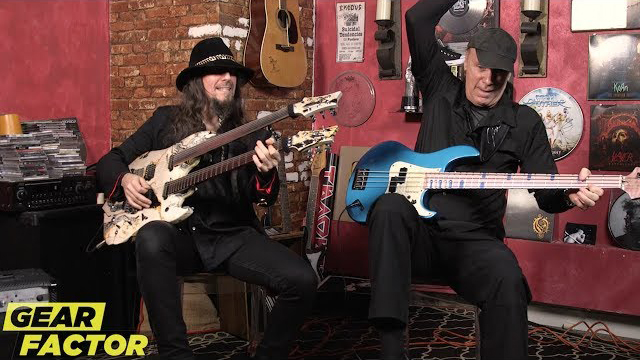 Billy Sheehan + Bumblefoot (Sons of Apollo) Play Their Favorite Riffs - Loudwire