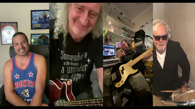 We are the Champions - Brian May - Roger Taylor - Jeff Scott Soto - Kuky Sanchez - Queen