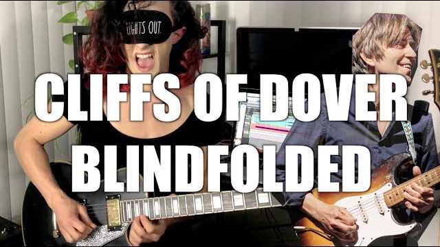 Dre DiMura - Cliffs of dover but i'm blindfolded
