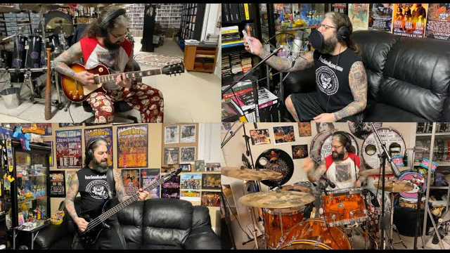 Mike Portnoy - We're A Happy Family (Quarantine Video)