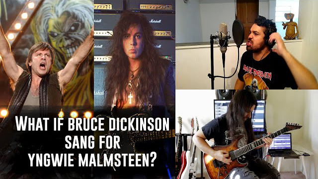 Raphael Mendes / What if Bruce Dickinson sang for Yngwie Malmsteen? Rising Force by Raphael Mendes & Luis Kalil
