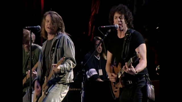 Lou Reed and Soul Asylum perform