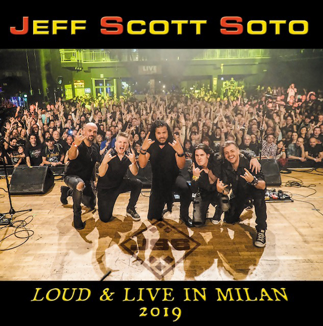 Jeff Scott Soto / Loud & Live In Milan 2019