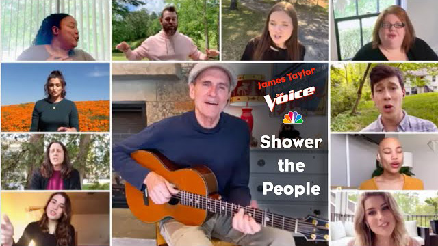 Shower The People - James Taylor Live on The Voice