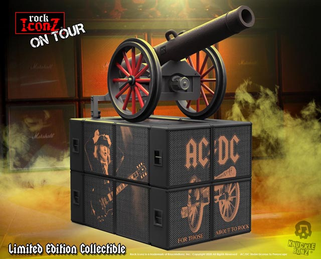 """AC/DC Cannon """"For Those About to Rock"""" On Tour Series Collectible"""
