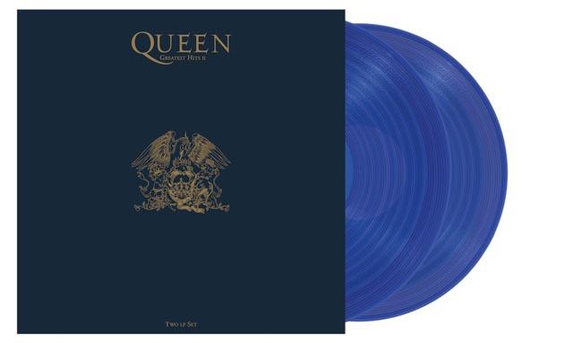 Queen / Greatest Hits II [2LP blue coloured vinyl]