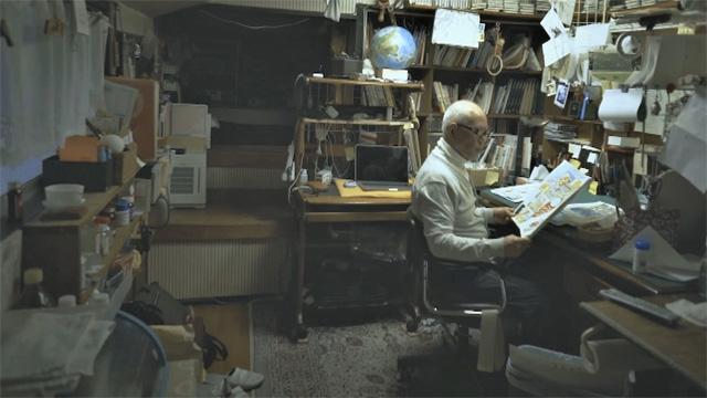 NHK『【ストーリーズ】ノーナレ「屋根裏のちばてつや」』(c)NHK
