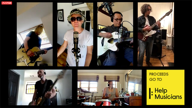 featuring members of the bands - The Wonder Stuff, Jesus Jones, Ned's Atomic Dustbin, Pop Will Eat Itself