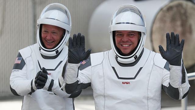 Bob Behnken and Doug Hurley © Getty