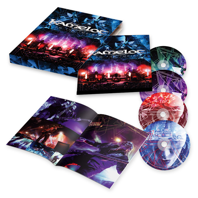 Kamelot / I Am The Empire - Live From The 013 [2-CD + DVD + BLU RAY]