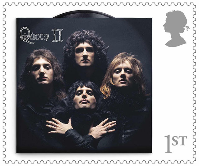 Queen II - Royal Mail Stamp Collection