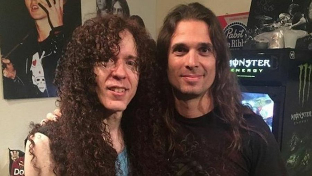 Kiko Loureiro and Marty Friedman