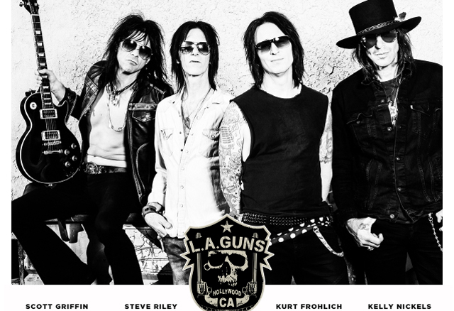 Steve Riley's Version Of L.A. GUNS