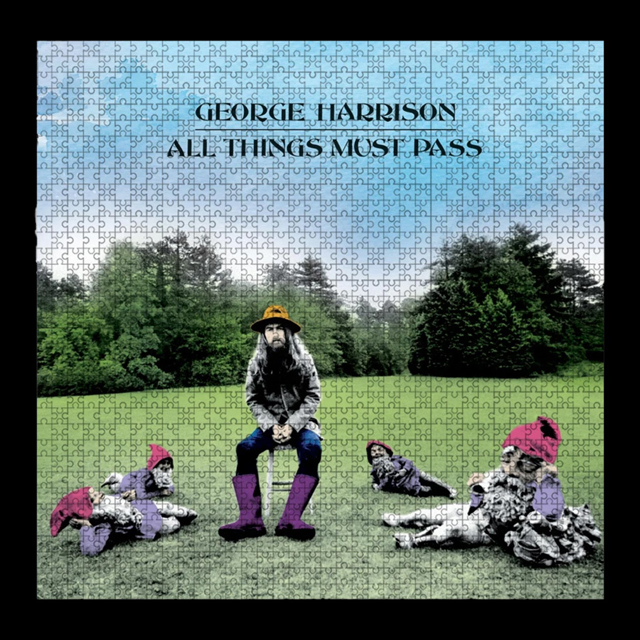 George Harrison - ALL THINGS MUST PASS JIGSAW PUZZLE