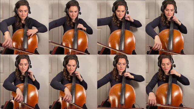 Samara Ginsberg - Airwolf for 8 Cellos