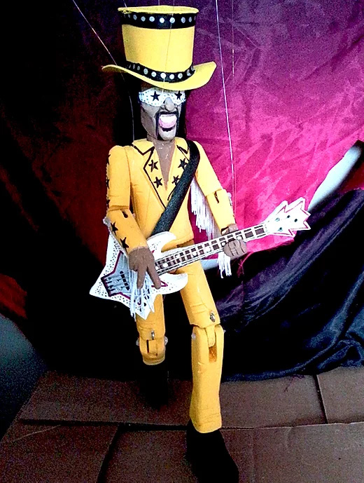 Bootsy Yellow Marionette Puppet Limited Edition
