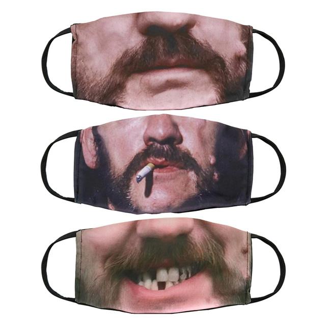 Motörhead - Faces of Lemmy Mask 3 Pack