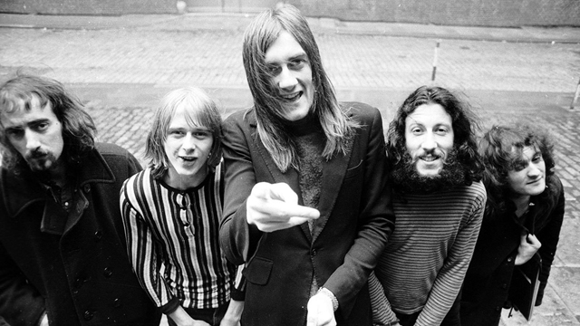 Fleetwood Mac with original guitarist Peter Green (Image credit: Michael Ochs Archive\/Getty Images)