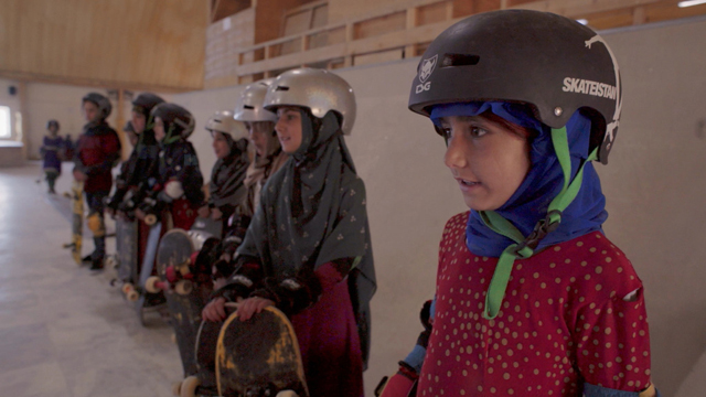 Learning to Skateboard in a Warzone (If You're a Girl)  (C)A&E IndieFilms
