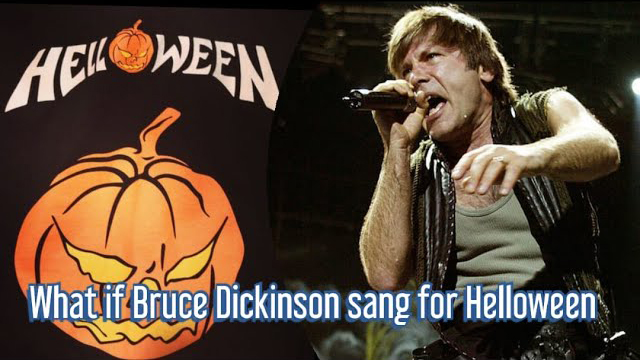 Raphael Mendes / What if Bruce Dickinson sang for HELLOWEEN?! - I Want Out