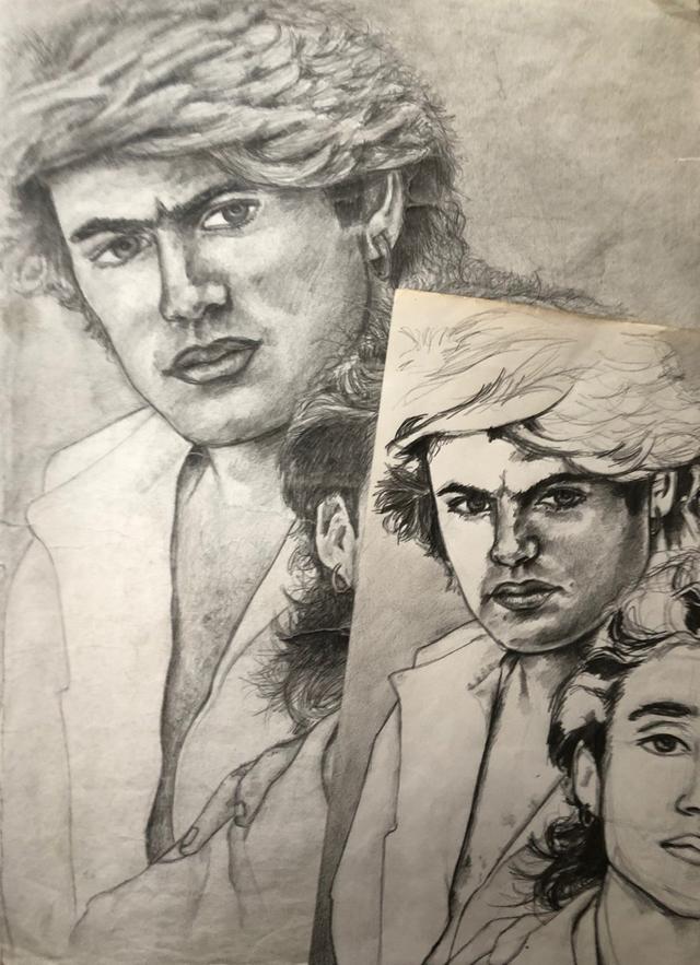 George Michael - Dawn Mellor