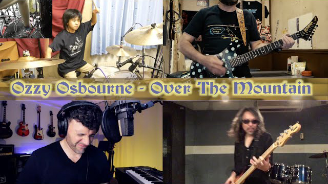 Over the Mountain - Ozzy Osbourne (Cover) / Yoyoka with FRIENDS