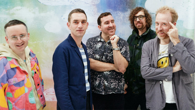Hot Chip, photo by Ronald Dick